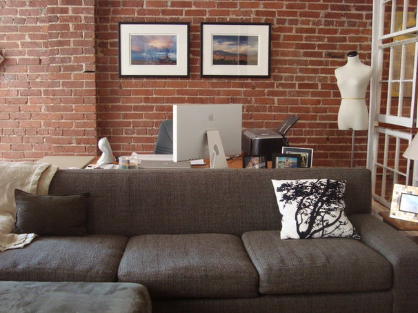 Industrial Living Room by Living2Design