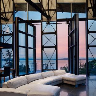 Imagen de salón abierto urbano