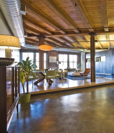 Industrial Salón Industrial Living Room