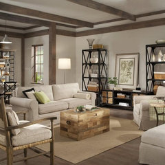 eclectic living room by Zin Home