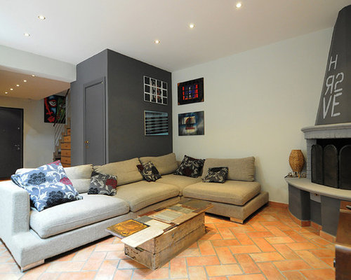 This Is An Example Of A Medium Sized Urban Formal Mezzanine Living Room In Florence With