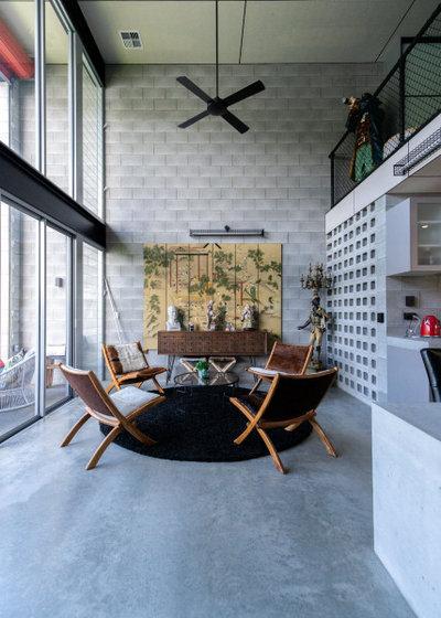 Лофт Гостиная by DCM Building Design & Drafting