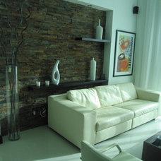 Contemporary Living Room by Azul & Company