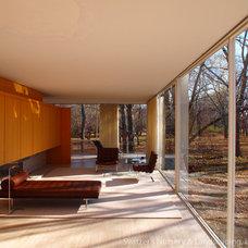 Modern Living Room by Switzer's Nursery & Landscaping, Inc.