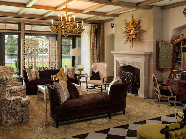 Victorian Living Room by Taylor & Taylor, Inc.