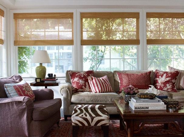 Contemporary Living Room by Tim Clarke Design