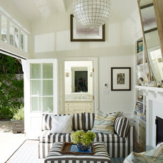 Traditional Living Room by Tim Clarke Design