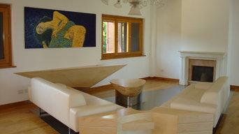 Inlaid floor design