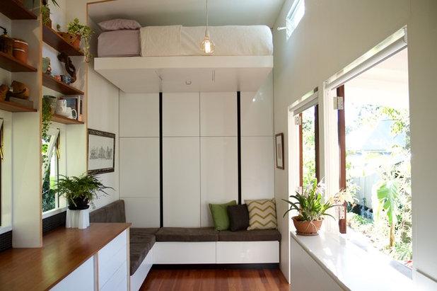 Contemporary Living Room by Tiny House Company