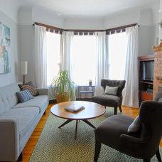 Eclectic Living Room by Megan Nordin Designs