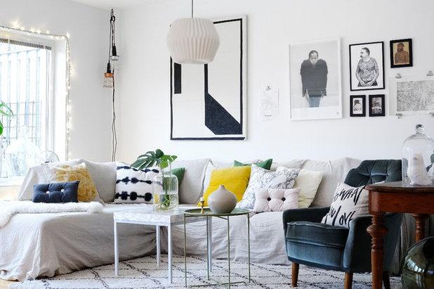 Come rinnovare il soggiorno con meno di 100 euro