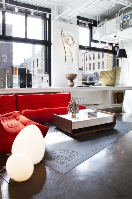 Contemporary Living Room by Inside Design