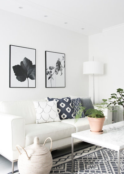 Scandinavian Living Room by Details by M.
