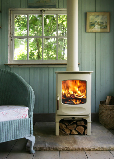 Country Living Room by Morley Stove Company Ltd