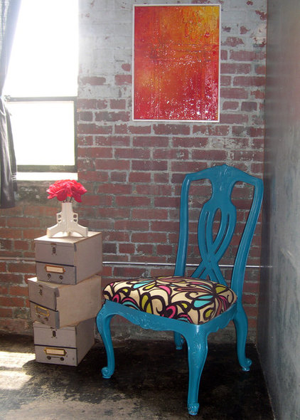 Eclectic Living Room by Instinctive Design