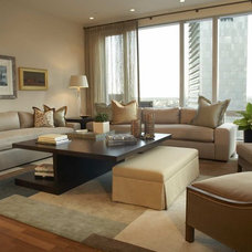 Modern Living Room by Duffy Design Group