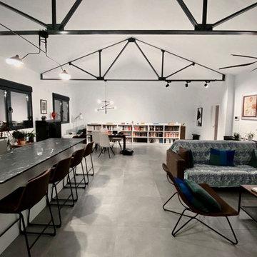 Interior de estilo industrial | CASA EN LA ANTIGUA FÁBRICA