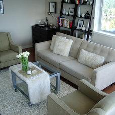 Modern Living Room by Redesigned Living