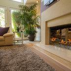 Modern Desert Classic Home Modern Living Room