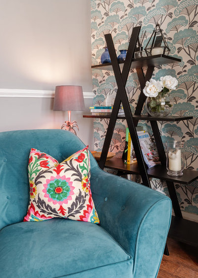Eclectic Living Room by Coral Interiors