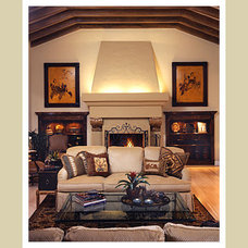 Traditional Living Room by Norman Design Group, Inc.