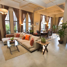 Contemporary Living Room by Style My Space Interior Design and Staging