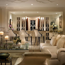 contemporary living room by Grossman Photography