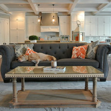 Contemporary Living Room by The Staged Style