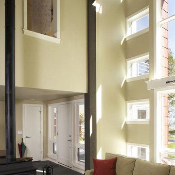 Interior Foyer & Vertical Shaft