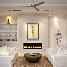 Contemporary Living Room by Murray Homes