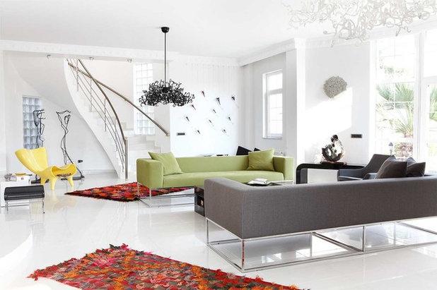 Contemporary Living Room by Kadir Asnaz Photography