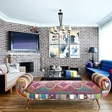 Eclectic Living Room by Kadir Asnaz Photography