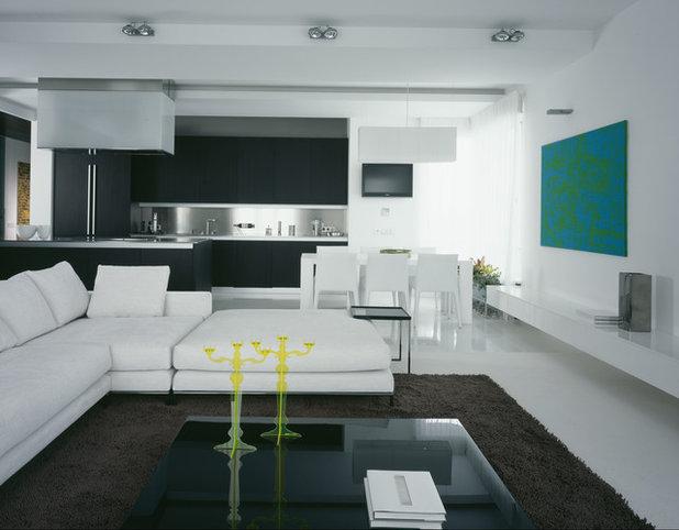 Современный Гостиная by Аrchitectural Studio UB.DESIGN