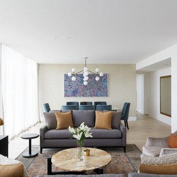 Interior photography - Treasury Gardens apartment