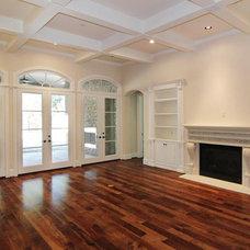Traditional Living Room by Gabay Custom Builders, INC