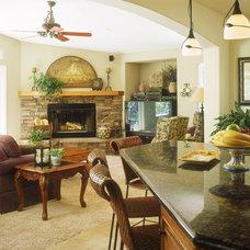 Traditional Living Room by Marrokal Design & Remodeling