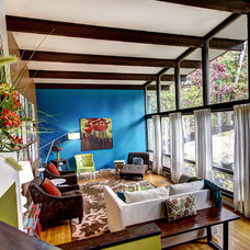 Eclectic Living Room by Photos By Kaity
