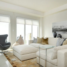 Contemporary Living Room by Warren Denomme - Photography for Real Estate