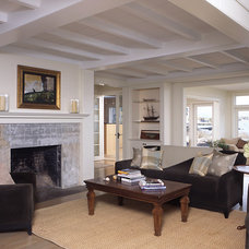 Contemporary Living Room by Patricia B. Warren, AIA   Warren Architecture, LLC