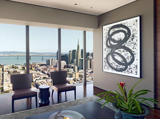 Contemporain Salon by Zack de Vito Architecture + Construction