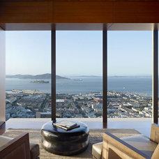 Modern Living Room by Zack de Vito Architecture + Construction
