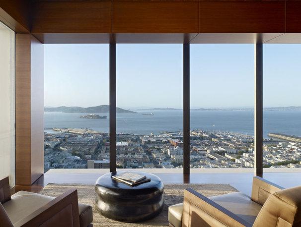 Modern Living Room by Zack|de Vito Architecture + Construction