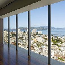 Contemporary Living Room by Zack|de Vito Architecture + Construction