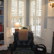 Traditional Window Treatments by The Shutterworks