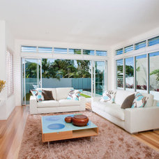 Contemporary Living Room by SBT Designs