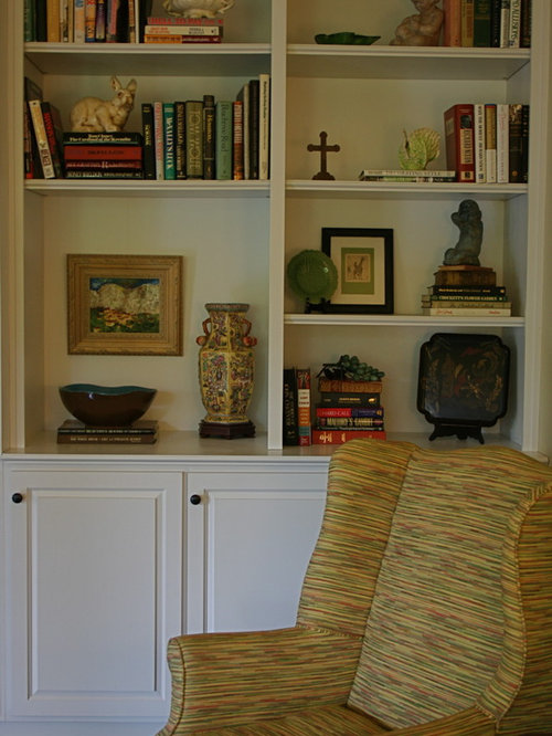 living room bookcase ideas shelf arrangement houzz 7139