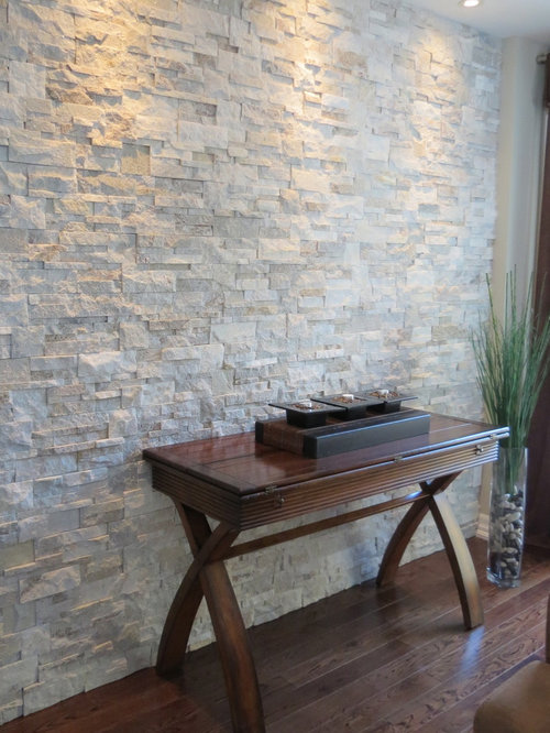 Brick with stone accents ideas pictures remodel and decor for Stone accents