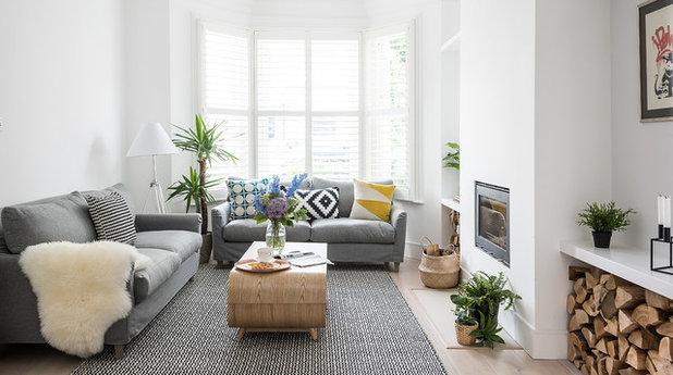 Skandinavisch Wohnbereich By Tribe Creative London