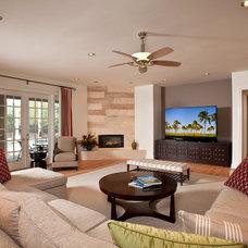 Contemporary Living Room by Veranda Homes