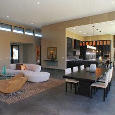 Contemporary Living Room by Dorman Associates, Inc.